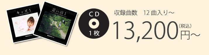 収録曲数 12曲入り CD1枚 13,200円(税込)~