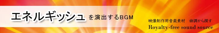カテゴリ_曲調_エネルギッシュ